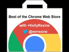 This session will highlight the best apps and extensions from the Chrome Web Store that can be used by teachers and students. via @Kelly Teske Goldsworthy Rexine