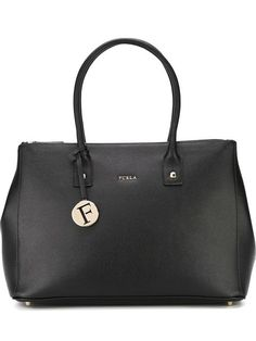 FURLA Large Tote Bag. #furla #bags #leather #hand bags #tote #