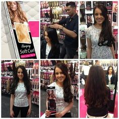 Hairspray Soft Curl. Xtra Long clip-in extensions.