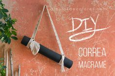 Correa de macramé Knots, Diy, Estilo Boho, Crochet, Crafts, Blog, Ideas, Home, Make A Purse