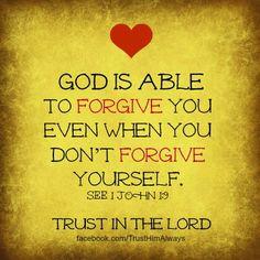 God is Able . . . 1 John 1:9