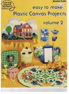 Easy to make plastic canvas projects vol.02 - Mly AgH - Picasa Web Albums...