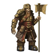 Alberich (Norse) (Boss) - The right-hand of the Sinlord of Greed. Everything this cursed dwarf touches turns into solid gold.