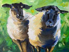 Irish black Sheep original Oil Paint - Farm inspired art from Ireland, farming, animals Breeds Of Cows, Black Sheep, People Art, Freelance Illustrator, Art Projects, Irish, Art Gallery, My Arts, Oil