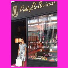 Visita muito querida na Pretty Ballerinas hoje!!! @lalanoleto #prettyballerinas #prettyballerinasbrasil #jkiguatemi