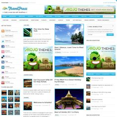 TravelPress - Free Wordpress Theme for Travel Website
