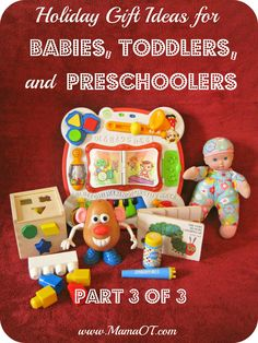 10 Holiday Gift Ideas for Preschoolers