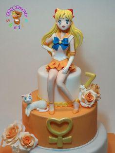 Sailor Venus cake - Cake by Sheila Laura Gallo