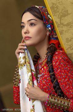 Turkmenische Schönheit