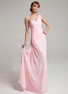 Special Occasion Dresses - $162.99 - A-Line/Princess One-Shoulder Floor-Length Chiffon Prom Dress With Ruffle Beading (018004880) http://amormoda.com/A-line-Princess-One-shoulder-Floor-length-Chiffon-Prom-Dress-With-Ruffle-Beading-018004880-g4880