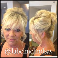 Awesome Mothers Loose Updo And Updo On Pinterest Short Hairstyles Gunalazisus