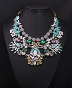 Big chunky necklace for woman wholesale china