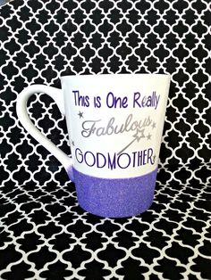 Godmother Gift God Mother Gift Godmother Mug by LoveInTheCityShop