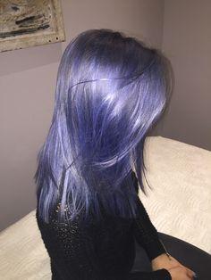 Catherine's blue new do/