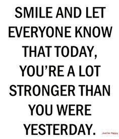 Reposting @palmstreetq: Stronger . . . #quote #quotes #quoteoftheday #instaquote #qotd #words #quotestoliveby #wisdom #quotestagram #lifequotes #inspiration #inspirationalquotes #motivational #successquotes #motivation #positivity