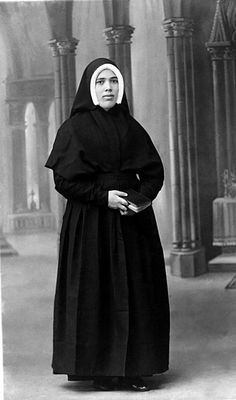 Lucia de Jesus dos Santos (1907-2005), vidente de Nuestra Señora de Fátima.
