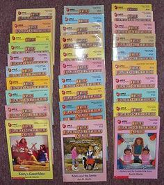 The Babysitters Club Book Series Used to love reading all of these!!