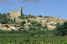 Chateauneuf du Pape, a lovely little village in the south of France. Very famous for wine.