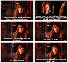 epic love. epic couple. Finn and Rachel. excuse me while i go sob my eyes out :(