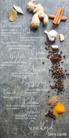 Jak zadbać o zdrowie przyprawami? http://zielonyzagonek.pl/apteczka/