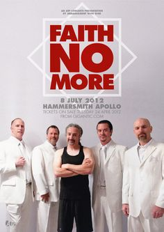 Faith No More at London Hammersmith Apollo, July 2012.
