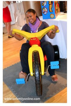 Check me out on the Original #BigWheel! I'm a big kid at heart!