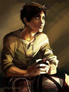 do you ever stop by and 'Eren, how dare you'? because I do. I got very carried away - viria