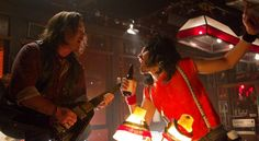 Alec Baldwin as Bourbon Room owner Dennis Dupree, and Russell Brand as Lonny in ROCK OF AGES Russell Brand, Alec Baldwin, Movie Photo, Picture Photo, Theatre Shows, Blu Ray Movies, Rock Of Ages, Stand Up Comedy, Political Views