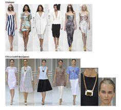 My favourite styles of Spring Summer 2014 COLLECTION apparel, shoes and make up by Chalayan, Chicca Lualdi BeeQueen ------- i miei preferiti della COLLEZIONE moda Primavera Estate 2014 abbigliamento scarpe accessori e trucco