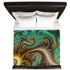 Toxic King Duvet > For the Bedroom and Living Room > Virtual Continuum