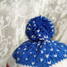 My new knitted hat for newborn baby coming soon in my etsy shop!