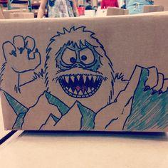 Bumble box drawing