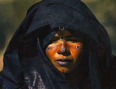 Africa |  Tuareg Woman, Niger | Scanned postcard