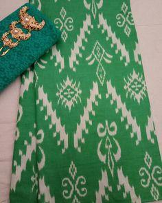 Kain batik print warna soft 1Set kain batikkain embos 85000