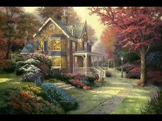 Victorian Autumn | The Thomas Kinkade Company
