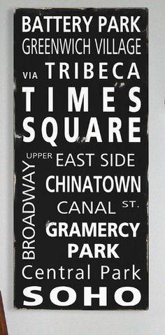 NY Subway inspiration