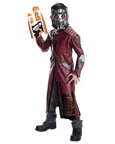 Deluxe Star Lord Child Costume - Spirithalloween.com