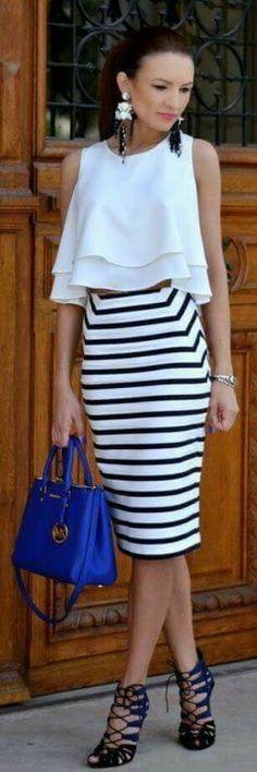 Outfit en falda