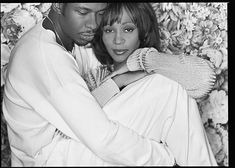 Singer/ songwriter Whitney Houston and singer Bobby Brown, are photographed with their baby daughter Bobbi Kristina Houston.