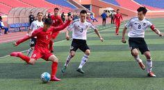 2017년 아시아축구련맹컵경기대회 9조(동아시아지역)경기소식 -우리 나라의 4.25팀이 몽골의 에르침팀을 6:0으로 이겼다-