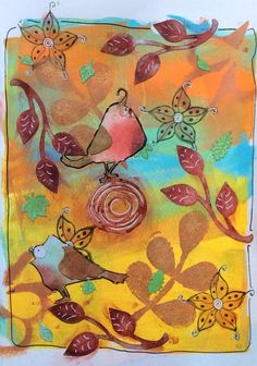Mixed Media, Art Journal, Journal page, stamping, StaZon, mod podge, embossing powder, cutting dies, Tim Holtz, Crazy Birds, Sizzix, Marianne Design, CrafTables, gelli plate, acrylic paint, acrylverf, Distress ink, Posca pen