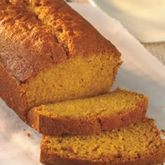 Pumpkin Gingerbread- better to bake at 325 so sides and bottom will not dry out before middle cooks!