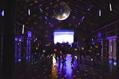 Camp Trillium- OuR Island- Inside Activity Hall during camp dance!