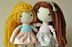 Crochet Amigurumi Doll PATTERN ONLY PDF Instant by KornflakeStew