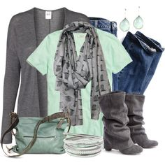 Mint & Grey,