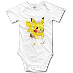 Pikachu Pokemon Boys Girls Clothes Baby Onesie Jumpsuits Set ** Click image to review more details.Note:It is affiliate link to Amazon. #girl