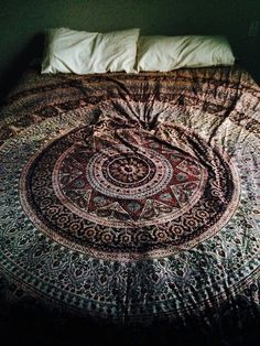 I think I actually bought this same bedspread at Pier I Imports when I was in college in the 70s! I still like it now!