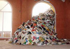 """Richard Ante (""""Book Art"""" : Éviter le pilon, ou comment utiliser le livre comme matériau d'une œuvre d'art)"""