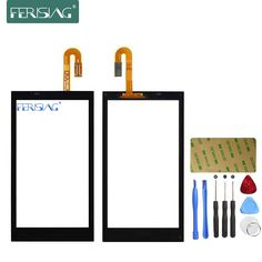 Ferising AAA 100% Touch Screen For HTC Desire 610 D610 Mobile Phone Touch Panel Sensor Digitizer Replacement Glass + Tools kit #Affiliate