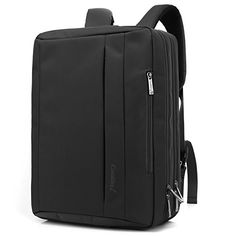 Coolbell(TM)15.6 inch Multi-function Convertible Laptop Messenger Computer Bag Single-shoulder Backpack Briefcase Oxford Cloth Waterproof Multi-Compartment For iPad Pro Macbook Men And Women(Black)